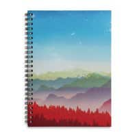 Red morning - spiral-notebook - small view