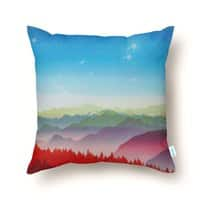 Red morning - throw-pillow - small view