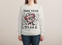 Take Your Time - french-terry-crew-sweatshirt - small view