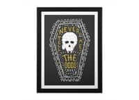 Never Tell Me The Odds - black-vertical-framed-print - small view