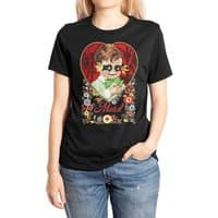 THE DEVIL MADE ME DO IT - womens-extra-soft-tee - small view