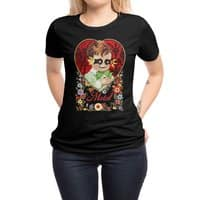 THE DEVIL MADE ME DO IT - womens-regular-tee - small view