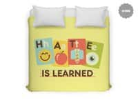 Hate Is Learned - duvet-cover - small view