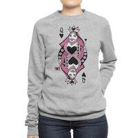 Queen of Hearts - crew-sweatshirt - small view