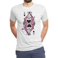 Queen of Hearts - mens-triblend-tee - small view
