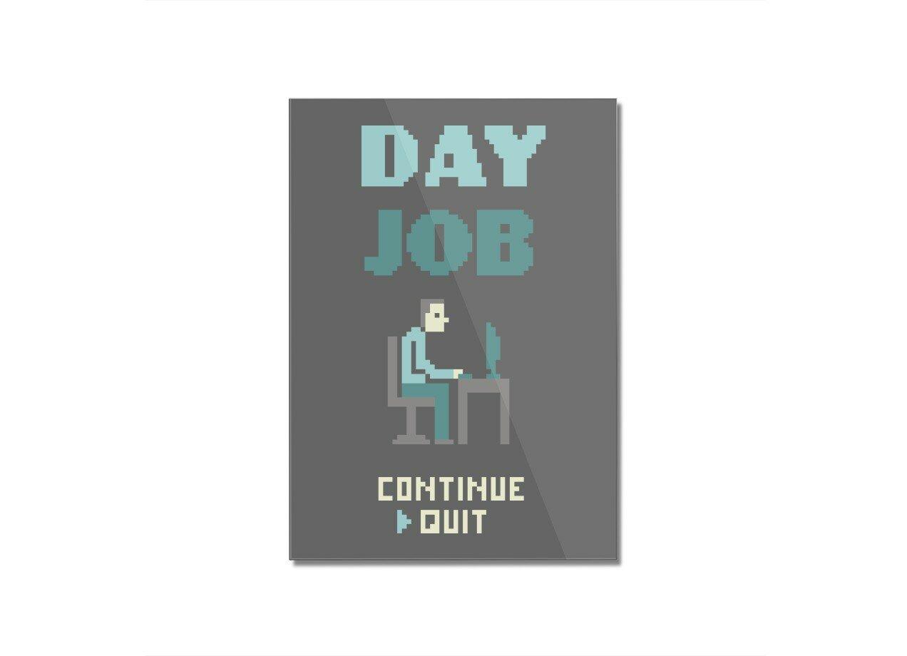 Day Job By Teo Zirinis Threadless