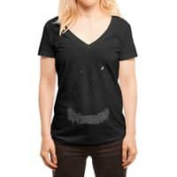 We are not alone - womens-deep-v-neck - small view