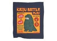 Kaiju Battle Play - blanket - small view