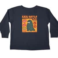 Kaiju Battle Play - longsleeve - small view