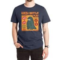 Kaiju Battle Play - mens-extra-soft-tee - small view