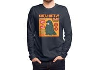 Kaiju Battle Play - mens-long-sleeve-tee - small view