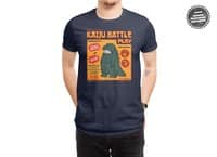 Kaiju Battle Play - mens-regular-tee - small view