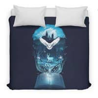Book of Fantasy - duvet-cover - small view
