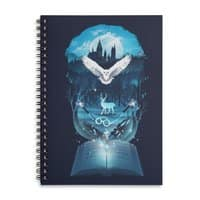 Book of Fantasy - spiral-notebook - small view