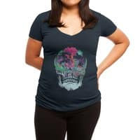 Beyond Death - womens-deep-v-neck - small view