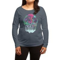 Beyond Death - womens-long-sleeve-terry-scoop - small view