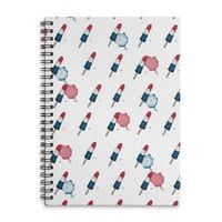 Summer Popsicles! - spiral-notebook - small view