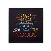 Live Noods - square-stretched-canvas - small view