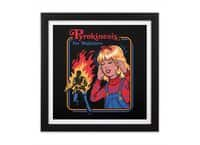 Pyrokinesis for Beginners - black-square-framed-print - small view