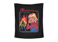 Pyrokinesis for Beginners - indoor-wall-tapestry-vertical - small view