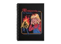 Pyrokinesis for Beginners - spiral-notebook - small view