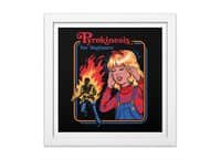 Pyrokinesis for Beginners - white-square-framed-print - small view