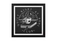 Quiet Night - black-square-framed-print - small view
