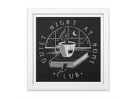 Quiet Night - white-square-framed-print - small view
