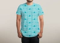 WAVES OF SHARKS - mens-sublimated-tee - small view