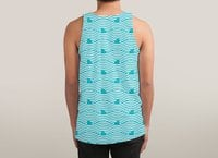 WAVES OF SHARKS - sublimated-tank - small view