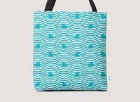 WAVES OF SHARKS - tote-bag - small view