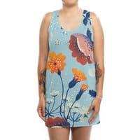 Garden - womens-sublimated-tank-dress - small view