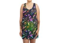 Moon Patrol - womens-sublimated-tank-dress - small view