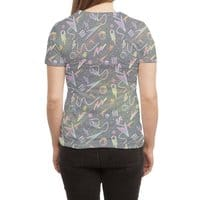 Moon Patrol - womens-sublimated-triblend-tee - small view