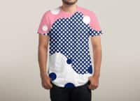 Polka Dots Fantasy - mens-sublimated-tee - small view