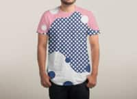 Polka Dots Fantasy - mens-sublimated-triblend-tee - small view