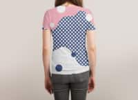 Polka Dots Fantasy - womens-sublimated-triblend-tee - small view