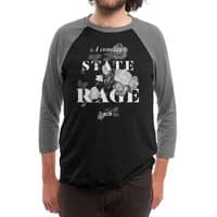 To Be Black and Conscious in America - triblend-34-sleeve-raglan-tee - small view