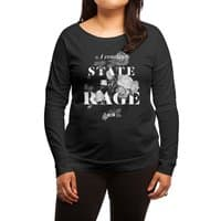 To Be Black and Conscious in America - womens-long-sleeve-terry-scoop - small view