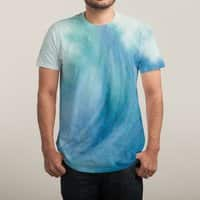 Watercolor Wave  - mens-sublimated-tee - small view