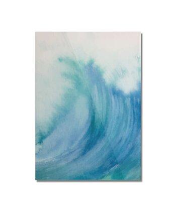 Watercolor Wave