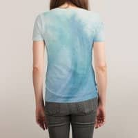 Watercolor Wave  - womens-sublimated-triblend-tee - small view
