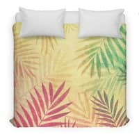 Tropical vibes! - duvet-cover - small view