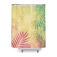 Tropical vibes! - shower-curtain - small view