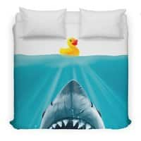 Save Ducky - duvet-cover - small view