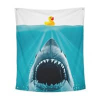 Save Ducky - indoor-wall-tapestry-vertical - small view