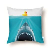 Save Ducky - throw-pillow - small view