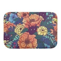 Wild Flowers - bath-mat - small view