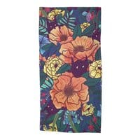 Wild Flowers - beach-towel - small view