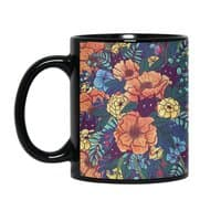 Wild Flowers - black-mug - small view